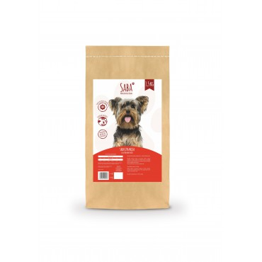 SABA 52% mięsa - 1,5 kg - dla psów dorosłych małych ras