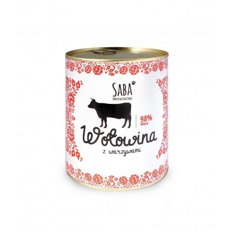 Wołowina z warzywami - 850 g