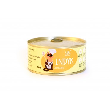 Indyk - konserwa dla kota - 300 g